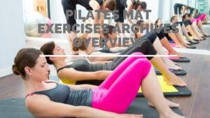 pilates mat exercises