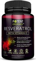 Potent Organics Resveratrol Supplement